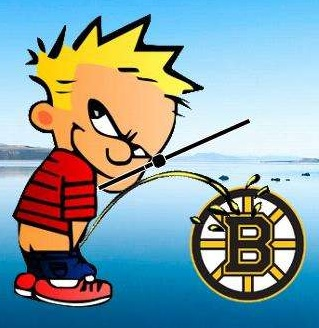 Image result for PISS ON BOSTON BRUINS
