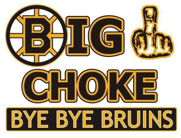 bye bye bruins choke boston bruins jokes and funny pictures habsnews ca